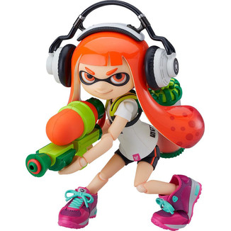 Splatoon Girl Figma 400 Splatoon
