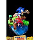 Estatua Sonic vs Chopper Sonic Generations