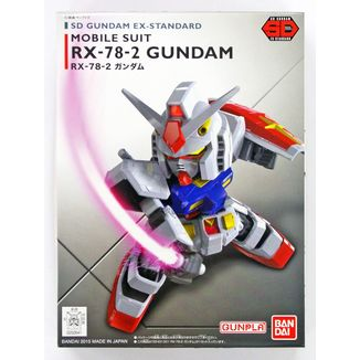 Model Kit Gundam SD EX STD 001 RX-78-2