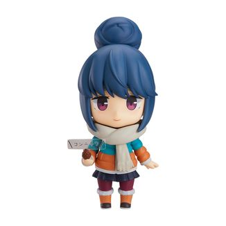 Nendoroid 981-DX Rin Shima DX Version Laid-Back Camp