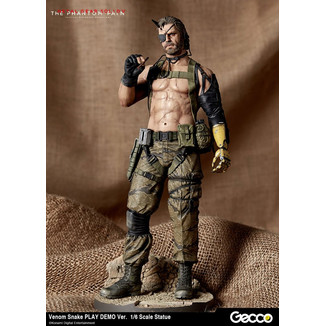 Figura Venom Snake Play Demo Version Metal Gear Solid V The Phantom Pain