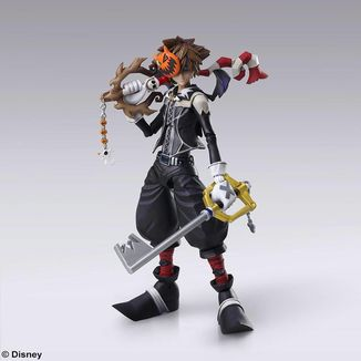 Figura Sora Halloween Town Kingdom Hearts II Play Arts Kai
