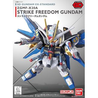 Model Kit Strike Freedom Gundam SD EX STD 006