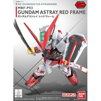 Model Kit Gundam Astray Red Frame SD Gundam EX STD 007