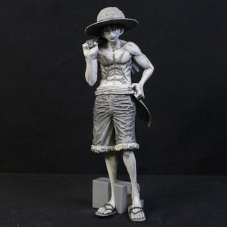 Figura Monkey D Luffy Monochrome One Piece Magazine Vol 2