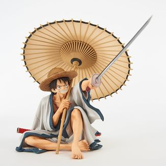 Monkey D Luffy Figure One Piece BWFC 2018
