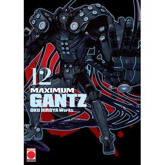 Maximum Gantz #12 Manga Oficial Panini Manga (Spanish)