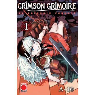 Crimson Grimoire: El Grimorio Carmesí #01 Manga Oficial Panini Manga