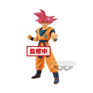 Figura Son Goku SSG Dragon Ball Super The Movie Chokoku Buyuden