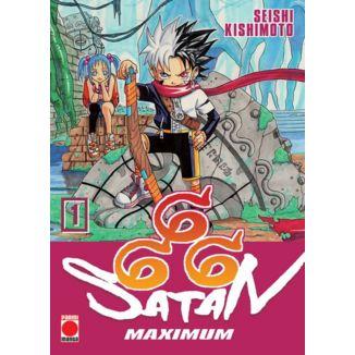 Maximum Satan 666 #01 Manga Oficial Panini Manga