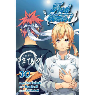 Food Wars Shokugeki no Soma #30 Manga Oficial Panini Manga