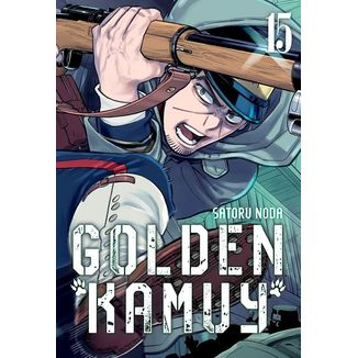 Golden Kamuy #15 (Spanish) Manga Oficial Milky Way Ediciones