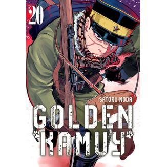 Golden Kamuy #20 (Spanish) Manga Oficial Milky Way Ediciones