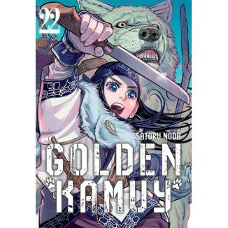 Golden Kamuy #22 (Spanish) Manga Oficial Milky Way Ediciones