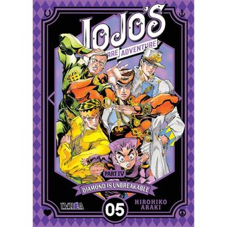 Jojo's Bizarre Adventure Diamond is Unbreakable #05 (Spanish) Manga Oficial Ivrea