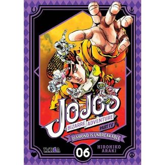 Jojo's Bizarre Adventure Diamond is Unbreakable #06 Manga Oficial Ivrea