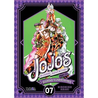 Jojo's Bizarre Adventure Diamond is Unbreakable #07 (Spanish) Manga Oficial Ivrea