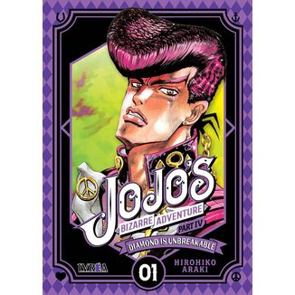 Jojo's Bizarre Adventure Diamond is Unbreakable #01 Manga Oficial Ivrea