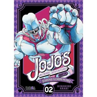 Jojo's Bizarre Adventure Diamond is Unbreakable #02 (Spanish)