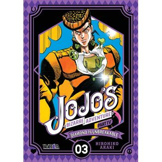 Jojo's Bizarre Adventure Diamond is Unbreakable #03 Manga Oficial Ivrea
