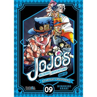 Jojo's Bizarre Adventure Stardust Crusaders #09 (Spanish)