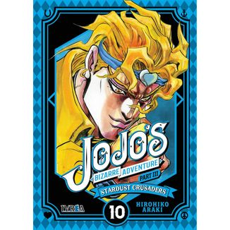 Jojo's Bizarre Adventure Stardust Crusaders #10 (Spanish)