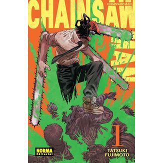 Chainsaw Man #01 Manga Oficial Norma Editorial