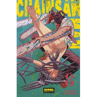 Chainsaw Man #08 Manga Oficial Norma Editorial