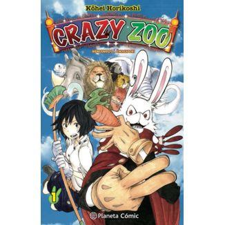 Crazy Zoo #01 Manga Planeta Comic