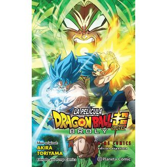 Dragon Ball Super: Broly Anime Comics Manga Oficial Planeta Cómic