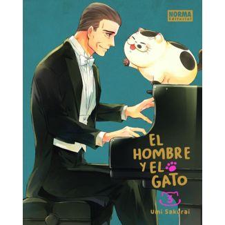 El Hombre y El Gato #03 Manga Oficial Norma Editorial