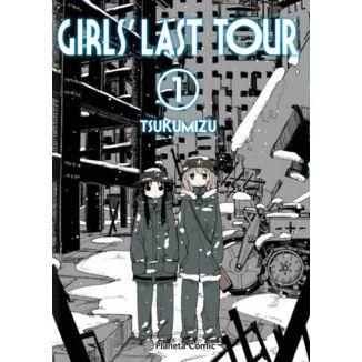 Girls Last Tour #01 Manga Planeta Comic