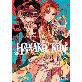 Hanako-kun El Fantasma del Lavabo #06 Manga Oficial Ivrea