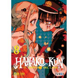 Hanako-kun El Fantasma del Lavabo #08 Manga Oficial Ivrea