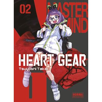 Heart Gear #02 Manga Oficial Norma Editorial (spanish)