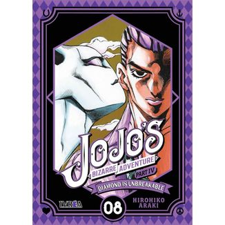 Jojo's Bizarre Adventure Diamond is Unbreakable #08 Manga Ivrea (Spanish)