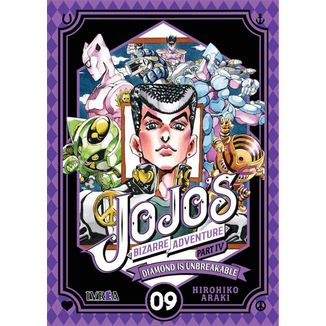 Jojo's Bizarre Adventure Diamond is Unbreakable #09 Manga Oficial Ivrea (Spanish)