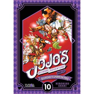 Jojo's Bizarre Adventure Diamond is Unbreakable #10 Manga Oficial Ivrea (Spanish)