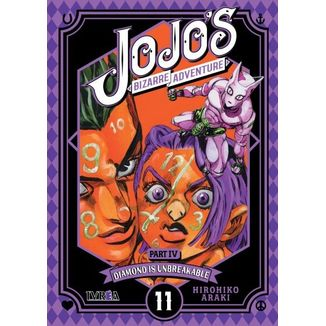 Jojo's Bizarre Adventure Diamond is Unbreakable #11 Manga Oficial Ivrea (Spanish)