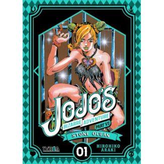 Jojo's Bizarre Adventure Stone Ocean #01 Manga Oficial Ivrea (spanish)