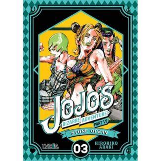 Jojo's Bizarre Adventure Stone Ocean #03 Manga Oficial Ivrea (spanish)