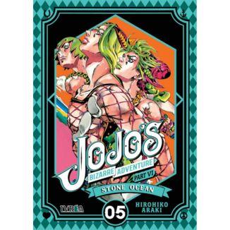 Jojo's Bizarre Adventure Stone Ocean #05 Manga Oficial Ivrea