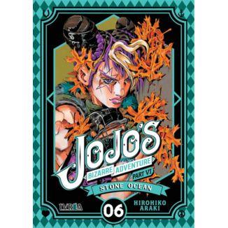 Jojo's Bizarre Adventure Stone Ocean #06 Manga Oficial Ivrea