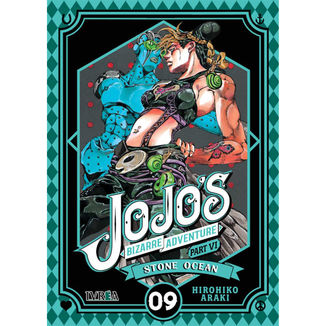 Jojo's Bizarre Adventure Stone Ocean #09 Manga Oficial Ivrea