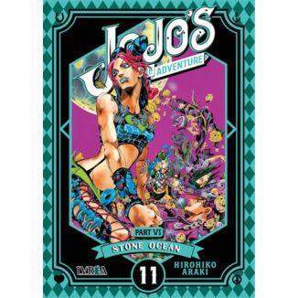 Jojo's Bizarre Adventure Stone Ocean #11 Manga Oficial Ivrea
