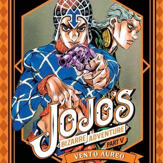 Jojo's Bizarre Adventure Vento Aureo #02 Manga Oficial Ivrea (Spanish)