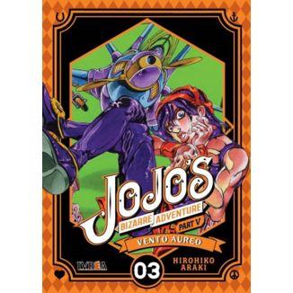 Jojo's Bizarre Adventure Vento Aureo #03 Manga Oficial Ivrea (Spanish)