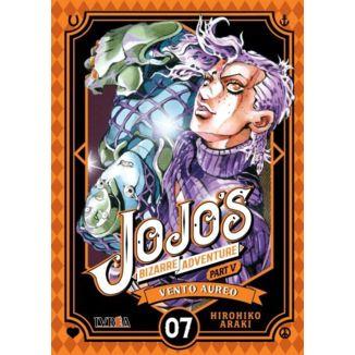 Jojo's Bizarre Adventure Vento Aureo #07 Manga Oficial Ivrea (Spanish)