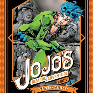 Jojo's Bizarre Adventure Vento Aureo #08 Manga Oficial Ivrea (Spanish)