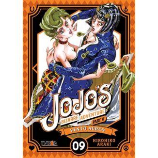 Jojo's Bizarre Adventure Vento Aureo #09 Manga Oficial Ivrea (Spanish)